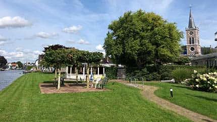 De tuin van Zorgcentrum Aelsmeer